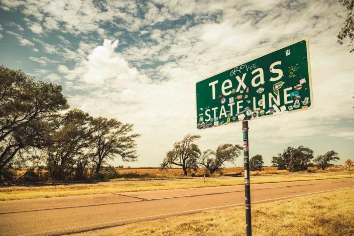 Roadtrip Route 66 Texas