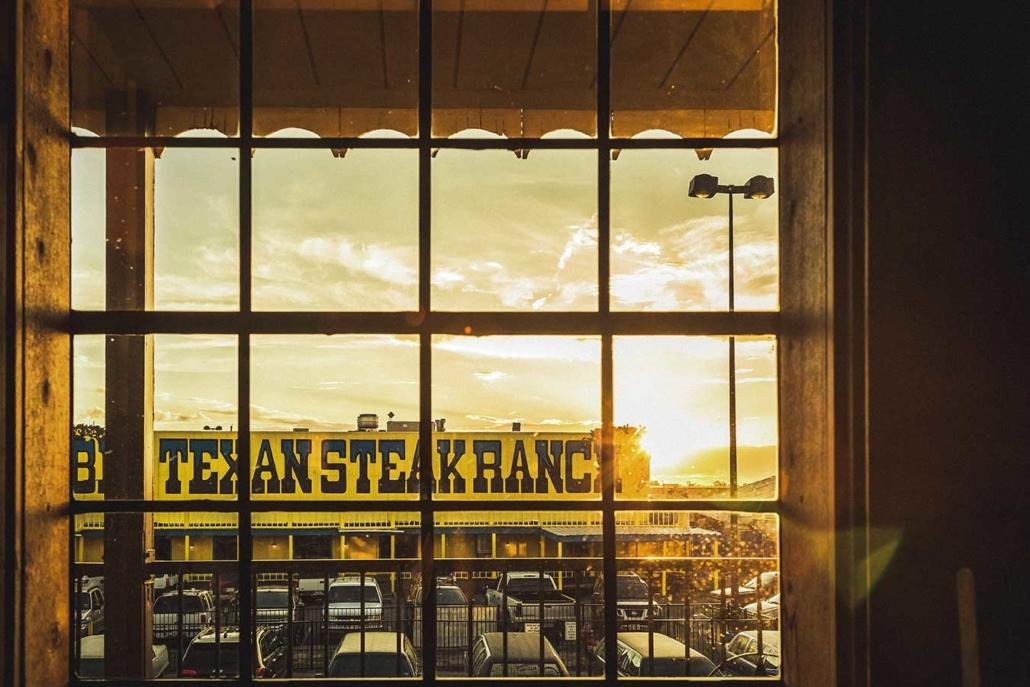 Roadtrip Route 66 Texas Steak Ranch