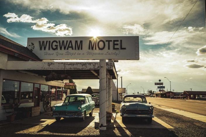 Roadtrip Route 66 Wigwam Motel