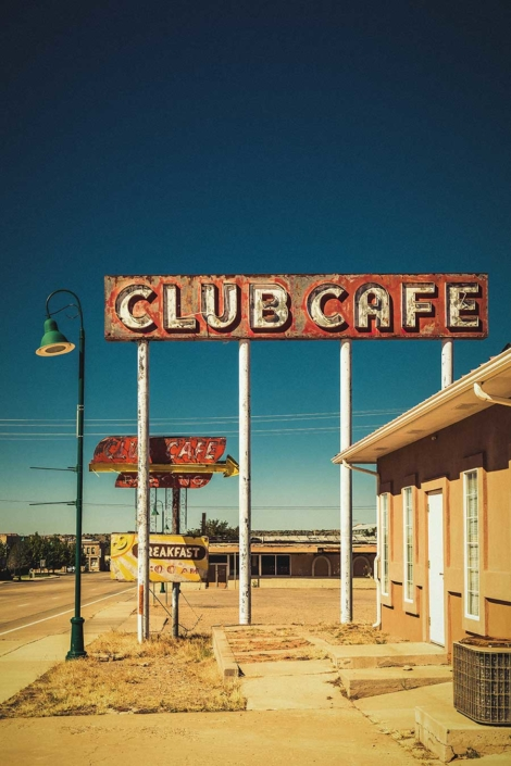 Roadtrip Route 66 Club Cafe