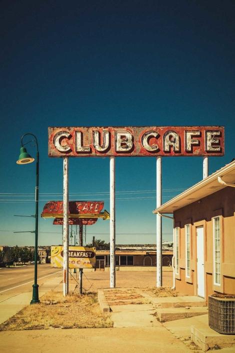 Roadtrip Route 66 Club Cafe