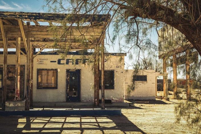 Roadtrip Route 66 Cafe