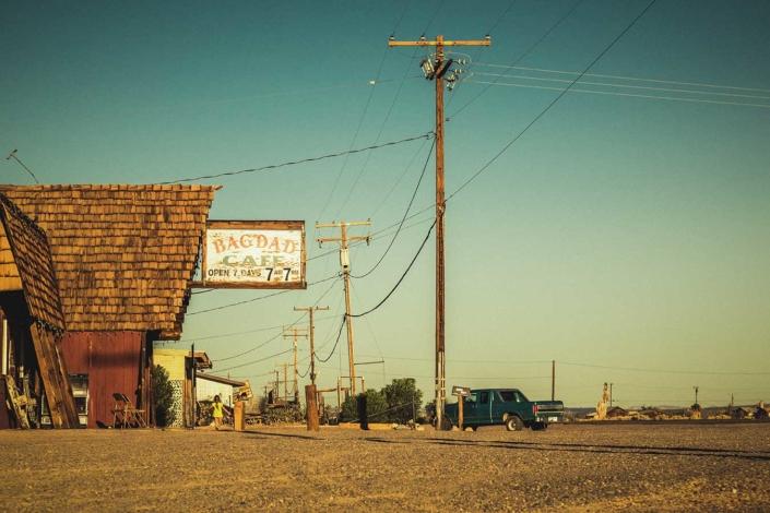 Roadtrip Route 66 Bagdad Cafe