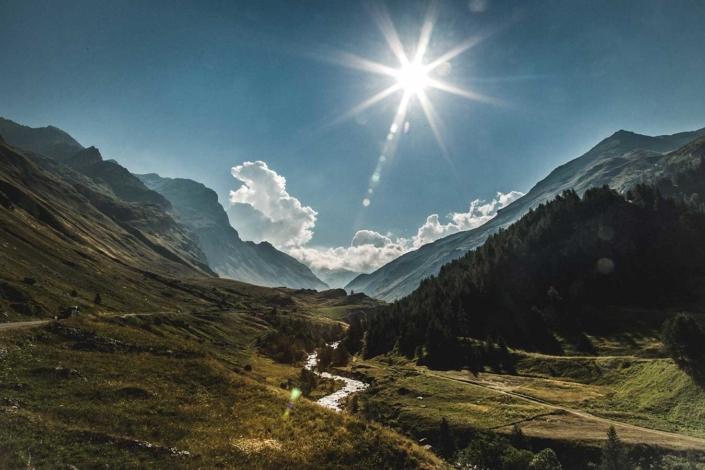 Reisefoto Alpen