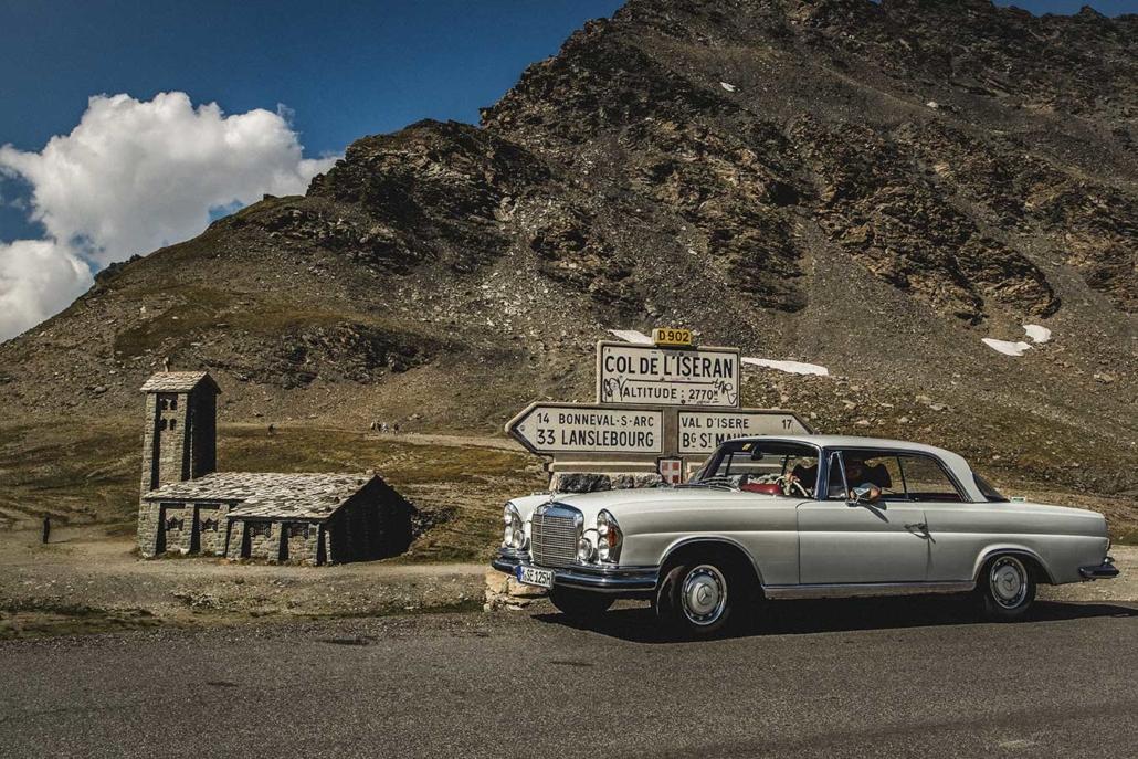 Reisefoto Alpenpass Iseran