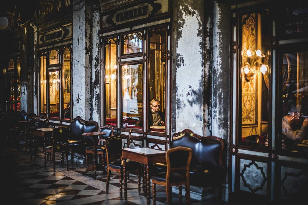 Venedig Markusplatz Cafe Florian