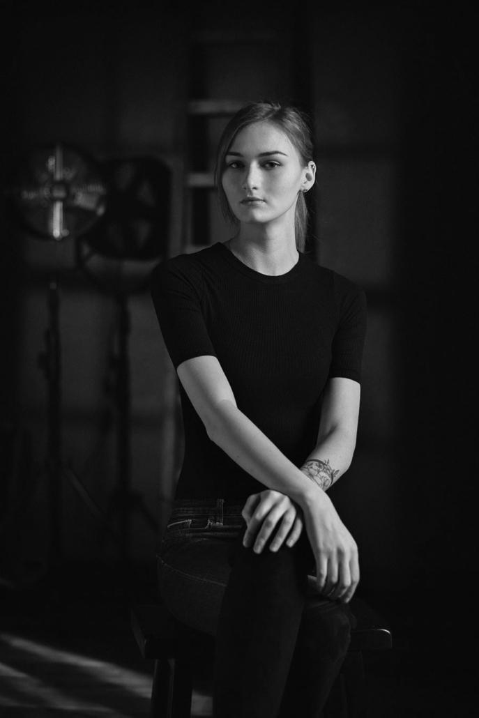 Portraitaufnahmen Model