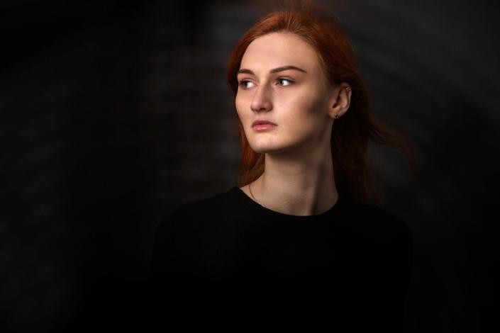 Portraitaufnahmen Rothaarige