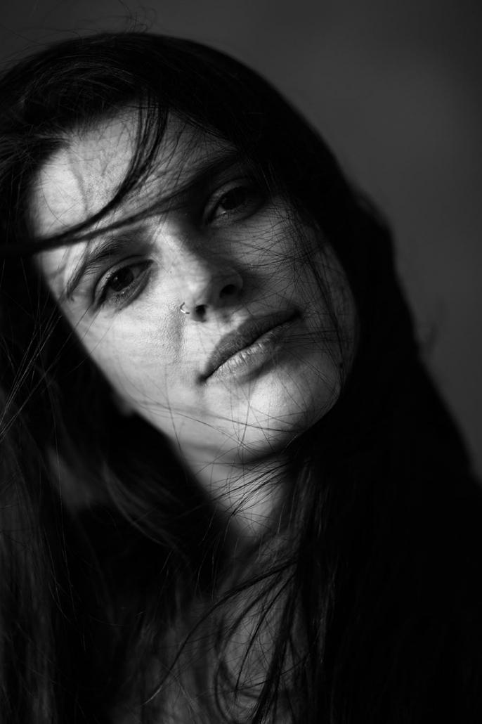 Schauspielerporträt sw Studio Jessica Puentes