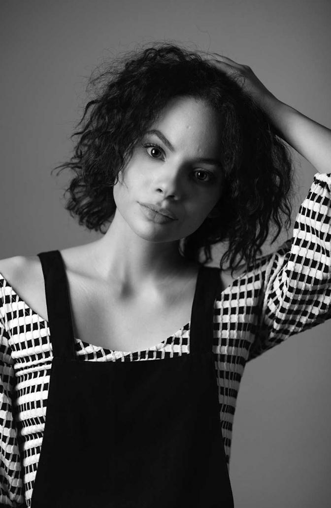 Studioportrait Schauspielerin
