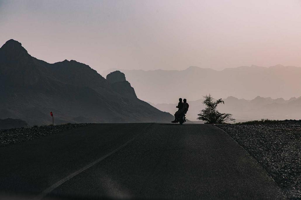 Oman Berge