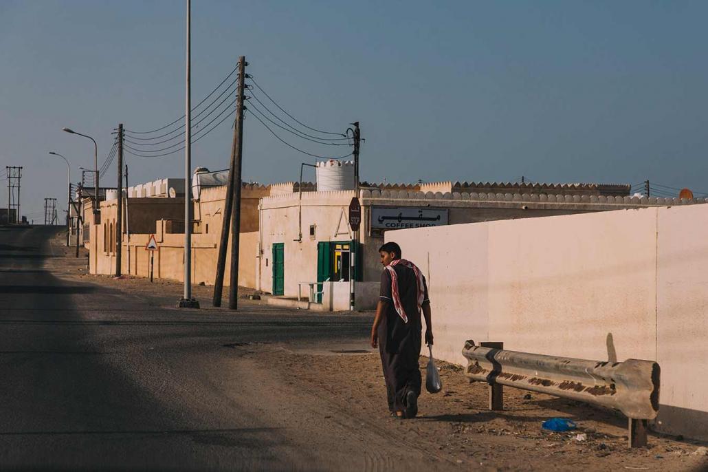 Oman Straßenszene