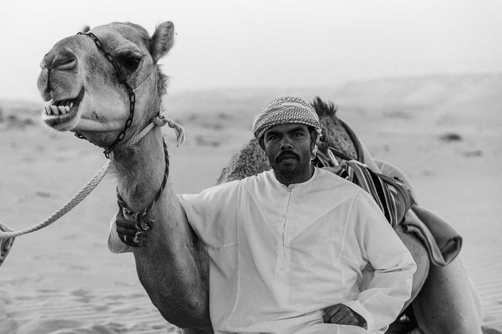 Beduine Kamel