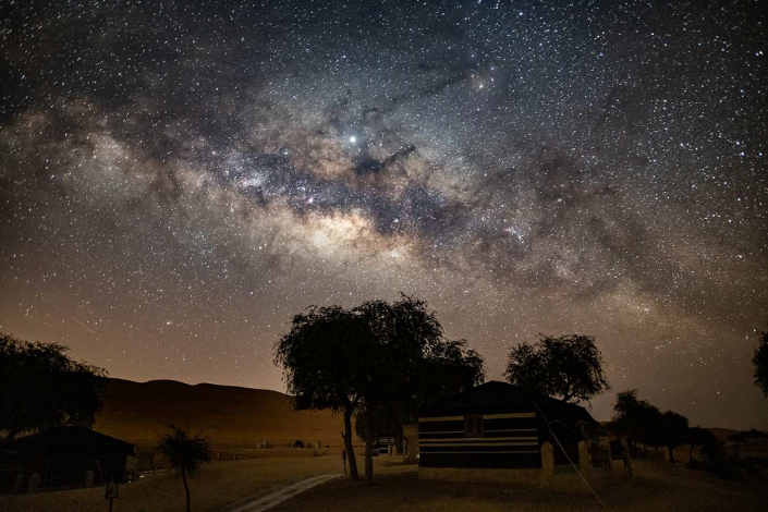Sternenhimmel Wüste
