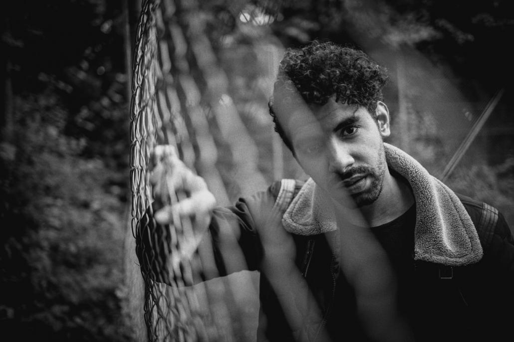Männerportraits outdoor schwarzweiss