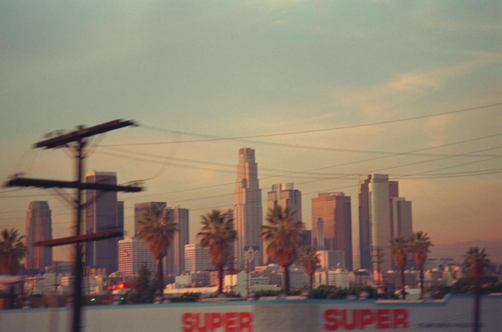 color Negativ Los Angeles analoge Fotografie