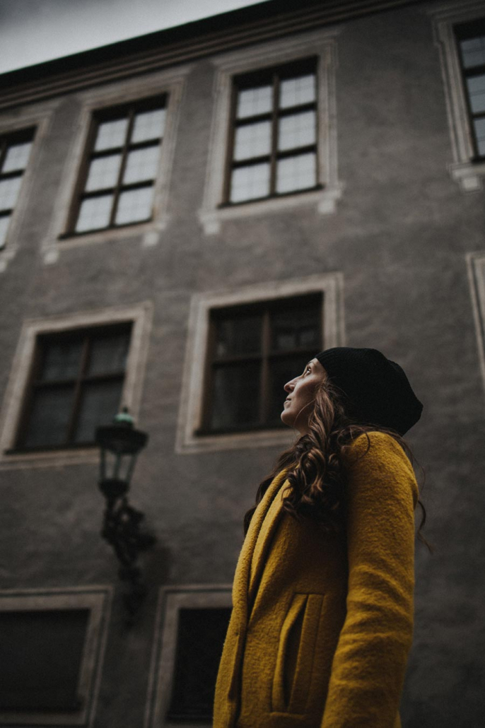 Portrait junge Frau in München
