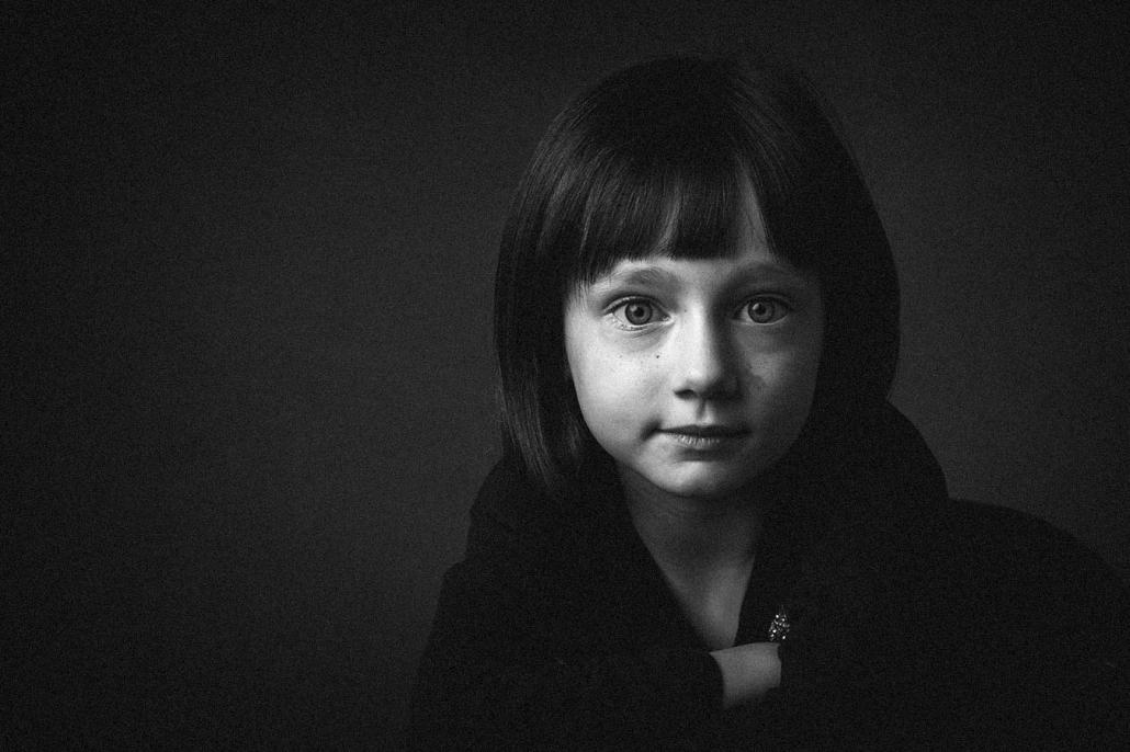 Kinderportrait sw