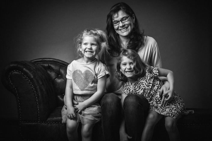 Mutter und Töchter sw
