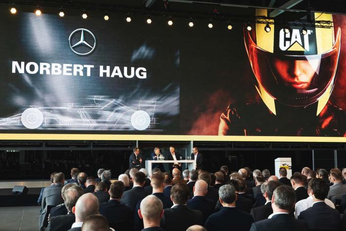 Norbert Haug Interview