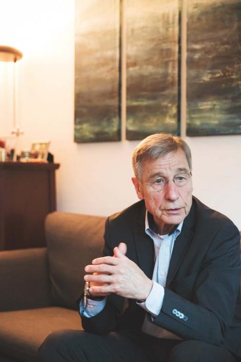 Wolfgang Clement im Gespräch