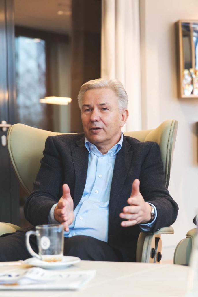 Klaus Wowereit im Gespräch