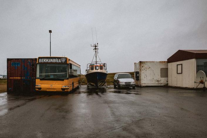 Island Bus Boot Auto