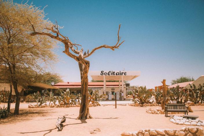 Tankstelle Namibia